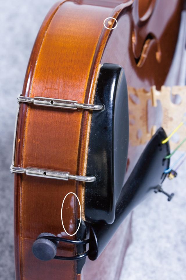 「J.H.MULLER:ミューラー」のドイツ製バイオリンセット-13a
