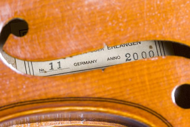 「J.H.MULLER:ミューラー」のドイツ製バイオリンセット-18