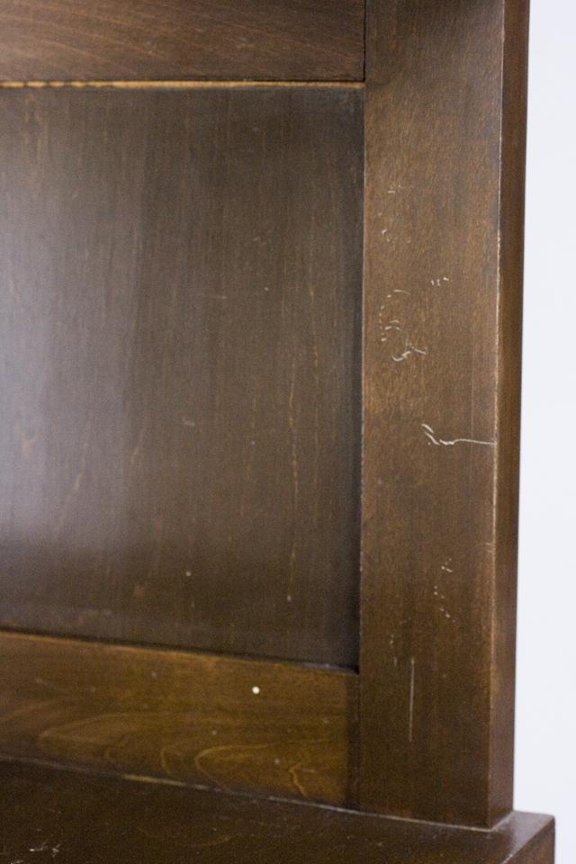 アンティークな古いモールガラスの収納棚-20