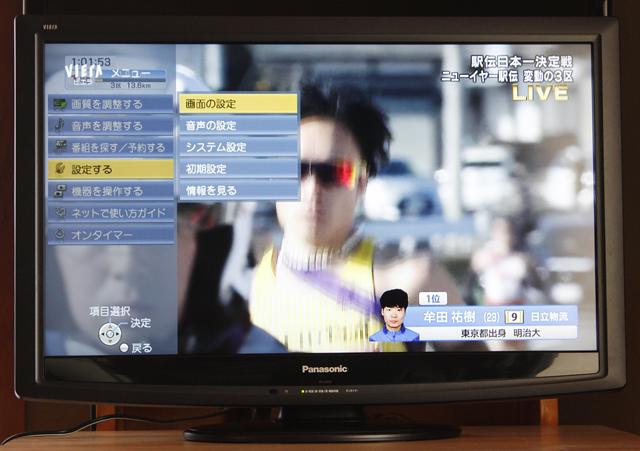 Panasonic:パナソニックの32V型液晶テレビ:TV、VIERA:ビエラ「TH-L32C2」-02