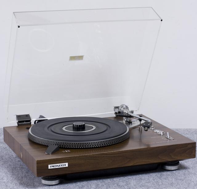 Pioneer:パイオニアのDDレコードプレーヤー「PL-1250」-01
