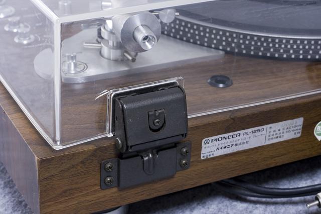 Pioneer:パイオニアのDDレコードプレーヤー「PL-1250」-03