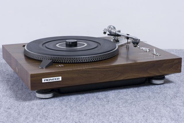 Pioneer:パイオニアのDDレコードプレーヤー「PL-1250」-04
