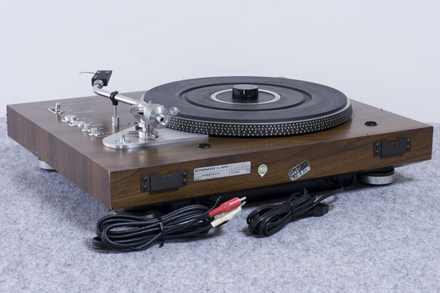Pioneer:パイオニアのDDレコードプレーヤー「PL-1250」-06