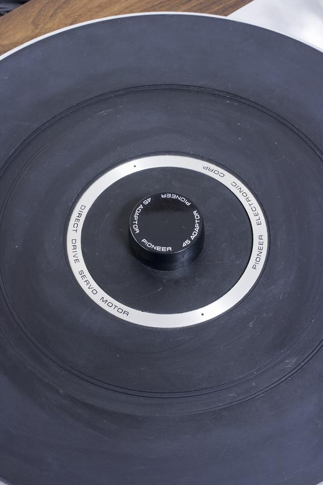 Pioneer:パイオニアのDDレコードプレーヤー「PL-1250」-10