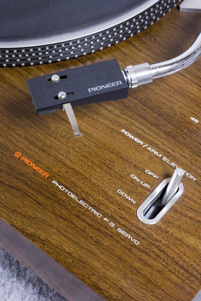 Pioneer:パイオニアのDDレコードプレーヤー「PL-1250」-12