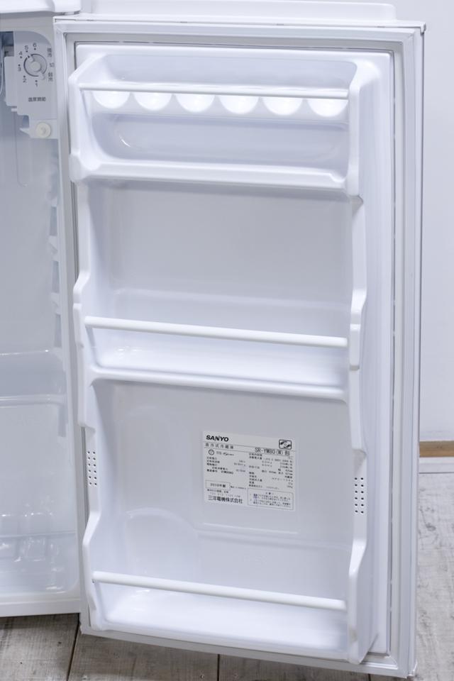 SANYO:サンヨーの直冷式1ドア冷蔵庫「SR-YM80」-04