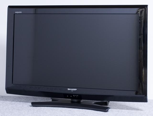 SHARP:シャープの32V型液晶テレビ:TV、AQUOS:アクオス「LC-32E9」-01