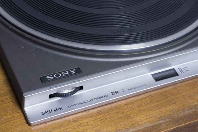 SONY:ソニーのDIRECT DRIVE:ダイレクトドライブターンテーブル「2500」-06