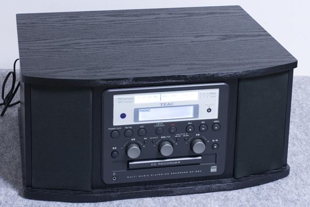 TEAC:ティアックのターンテーブル付CDレコーダー「GF-350」-03