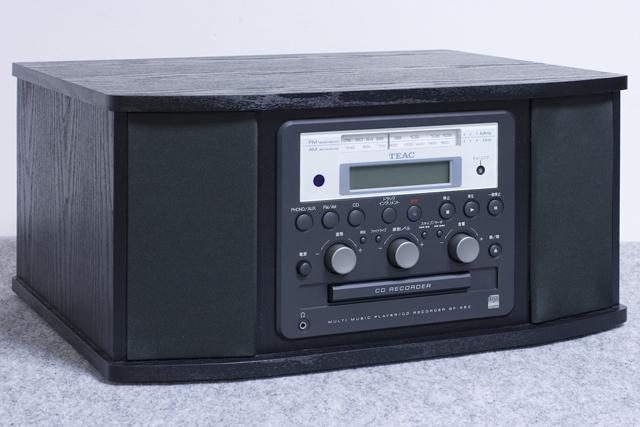 TEAC:ティアックのターンテーブル付CDレコーダー「GF-350」-05