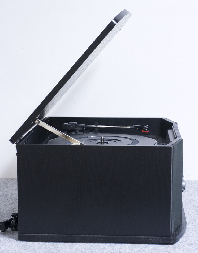 TEAC:ティアックのターンテーブル付CDレコーダー「GF-350」-10