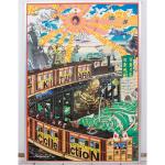 「横尾忠則」の横浜キャラクターミュージアムポスター