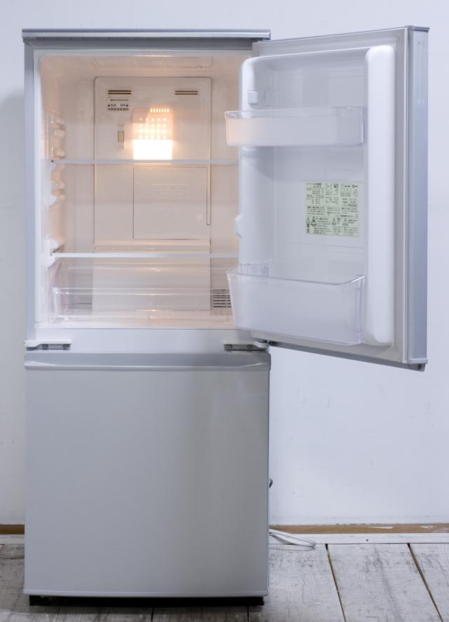 SHARP:シャープの2ドア冷蔵庫「SJ-14T」-02