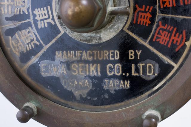 アンティークな「古い船舶用エンジン・テレグラフ」-07