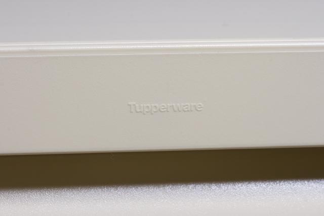Tupperware:タッパーウェアの浅型引き出し2段タイプ収納「スーパーチェスト・ワイド」-05