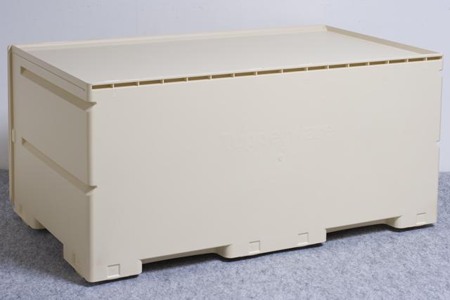 Tupperware:タッパーウェアの浅型引き出し2段タイプ収納「スーパーチェスト・ワイド」-09