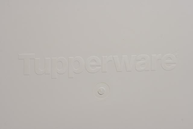 Tupperware:タッパーウェアの浅型引き出し2段タイプ収納「スーパーチェスト・ワイド」-10