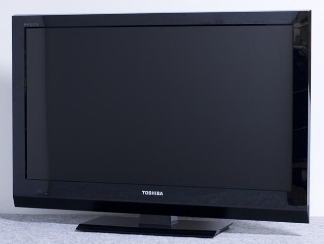 TOSHIBA:東芝の32V型液晶テレビ:TV、REGZA:レグザ「32AC4」-01