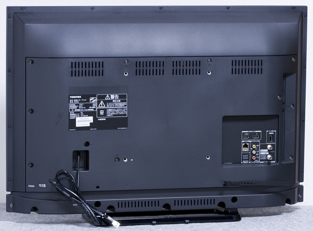 TOSHIBA:東芝の32V型液晶テレビ:TV、REGZA:レグザ「32S20」-04