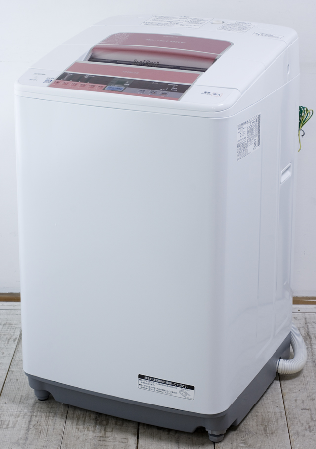 HITACHI:日立の全自動洗濯機「BW-7TV」-02