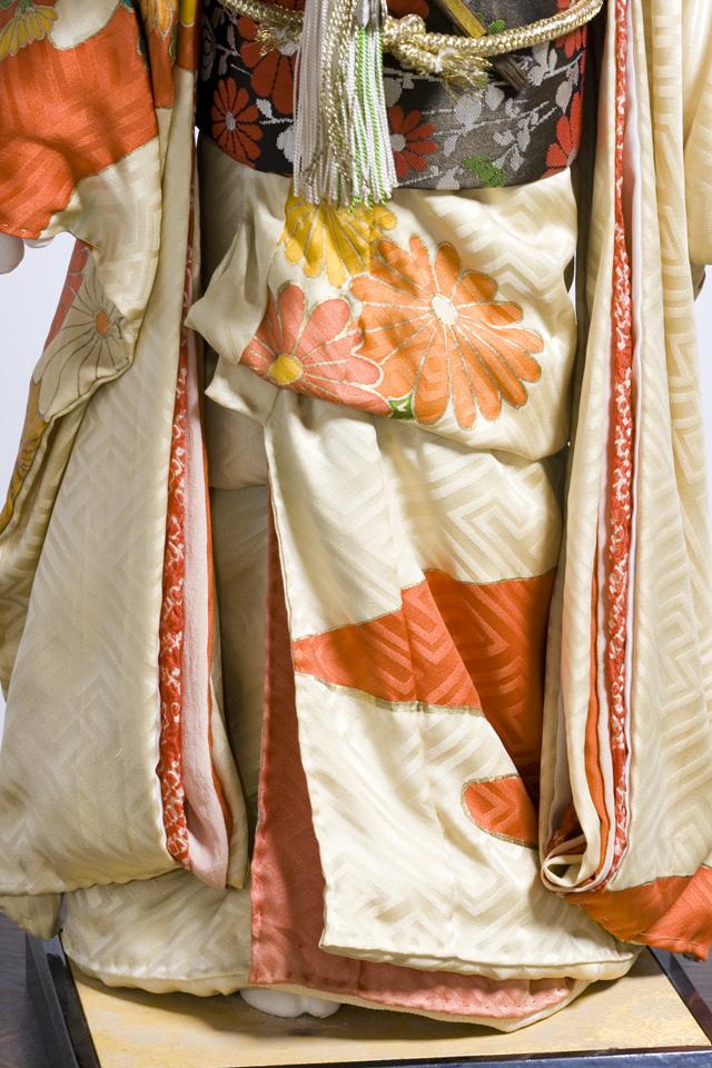 古い市松人形「銘:松風」-09