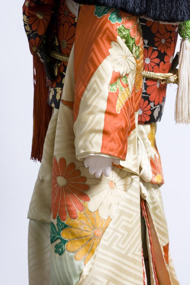 古い市松人形「銘:松風」-10