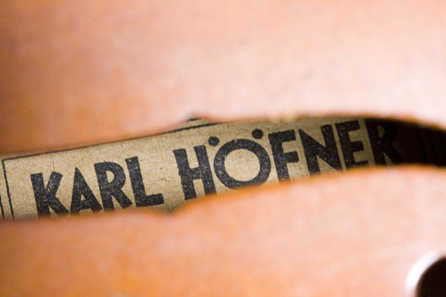ドイツ製バイオリン「KARL HOFNER:カール・ヘフナー」-02