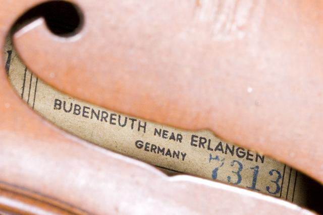 ドイツ製バイオリン「KARL HOFNER:カール・ヘフナー」-03