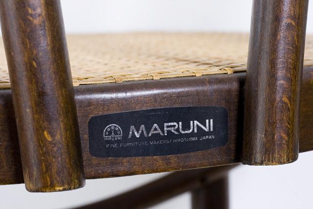 MARUNI:マルニのベントウッドチェア-08