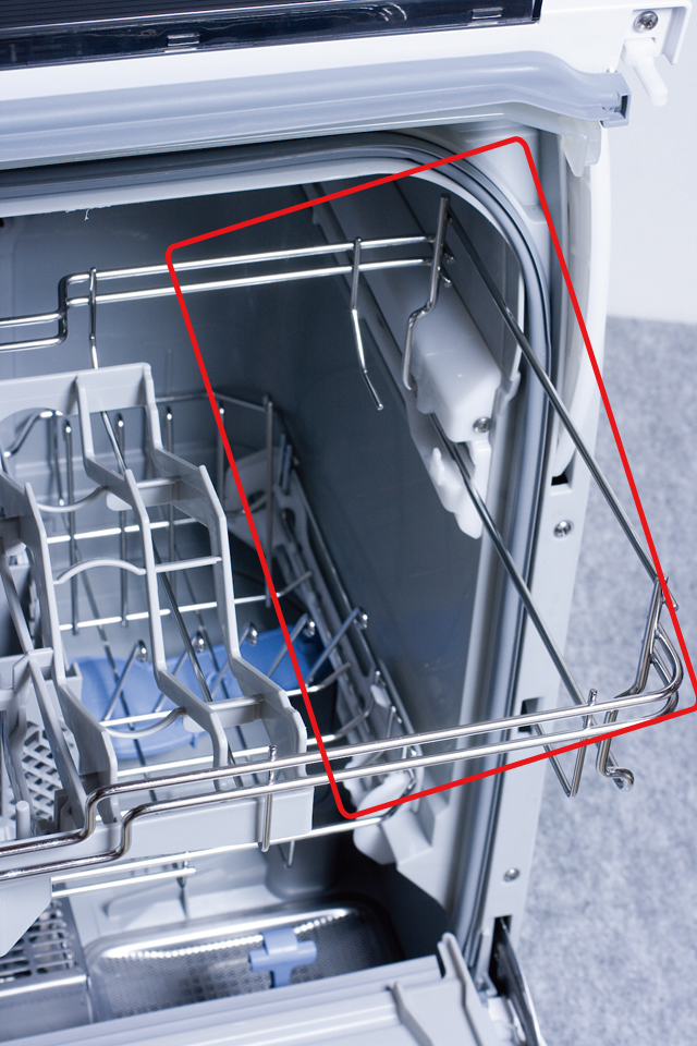 Panasonic:パナソニックの食器洗い乾燥機「NP-TR6」-09a
