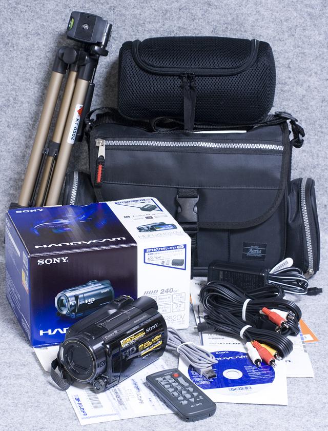 SONY:ソニーのデジタルHDビデオカメラレコーダー「HDR-XR520V」-01