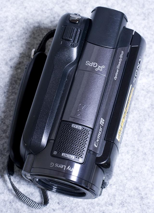 SONY:ソニーのデジタルHDビデオカメラレコーダー「HDR-XR520V」-09