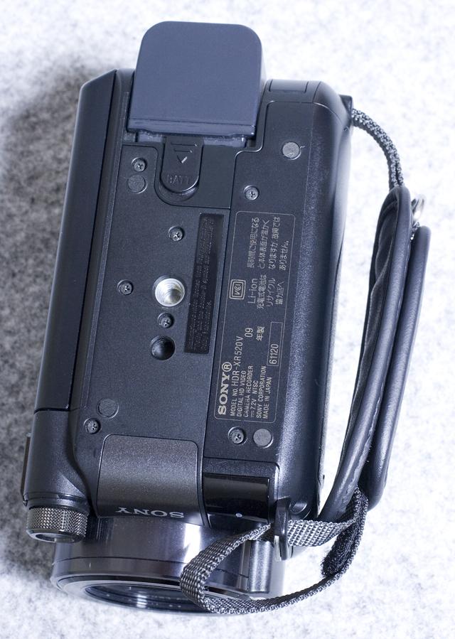 SONY:ソニーのデジタルHDビデオカメラレコーダー「HDR-XR520V」-10