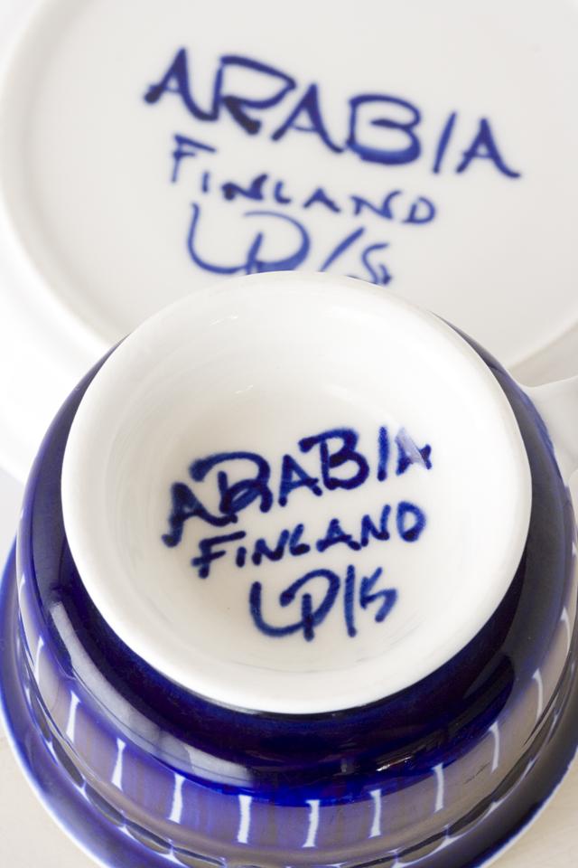 ヴィンテージの北欧デザイン食器、フィンランドの「ARABIA:アラビア|Valencia:バレンシア」シリーズ-06