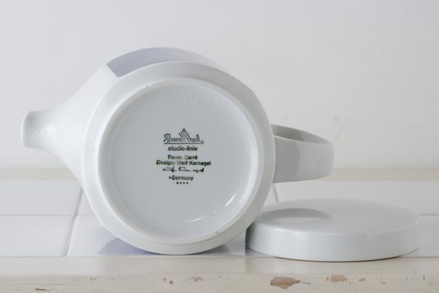 ドイツ製食器「Rosenthal:ローゼンタール」のstudio-linie:スタジオライン「Design:Wolf Karnagel:ウォルフ・カーナグル」-07