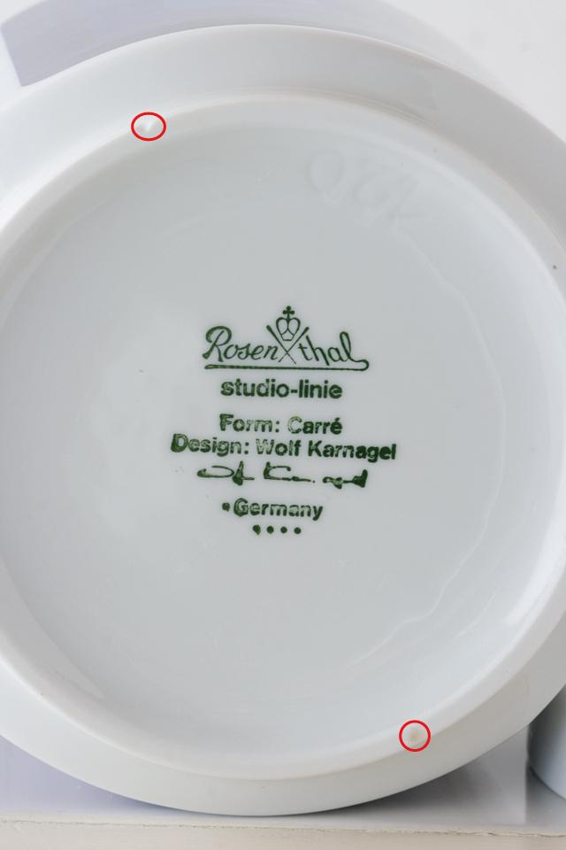 ドイツ製食器「Rosenthal:ローゼンタール」のstudio-linie:スタジオライン「Design:Wolf Karnagel:ウォルフ・カーナグル」-08a