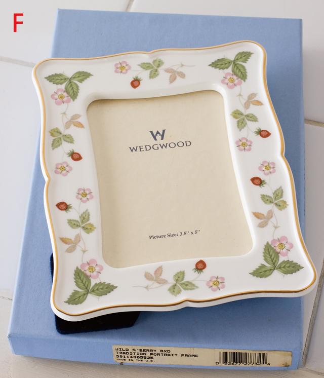 WEDGWOOD:ウェッジウッドの「WILD STRAWBERRY:ワイルドストロベリー」シリーズ-09