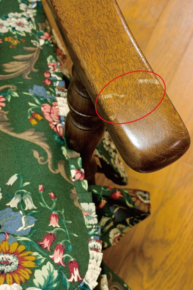 キツツキマークの飛騨産業「穂高」シリーズの1人掛けソファ「両肘付きチェア:No6A」2脚セット-08
