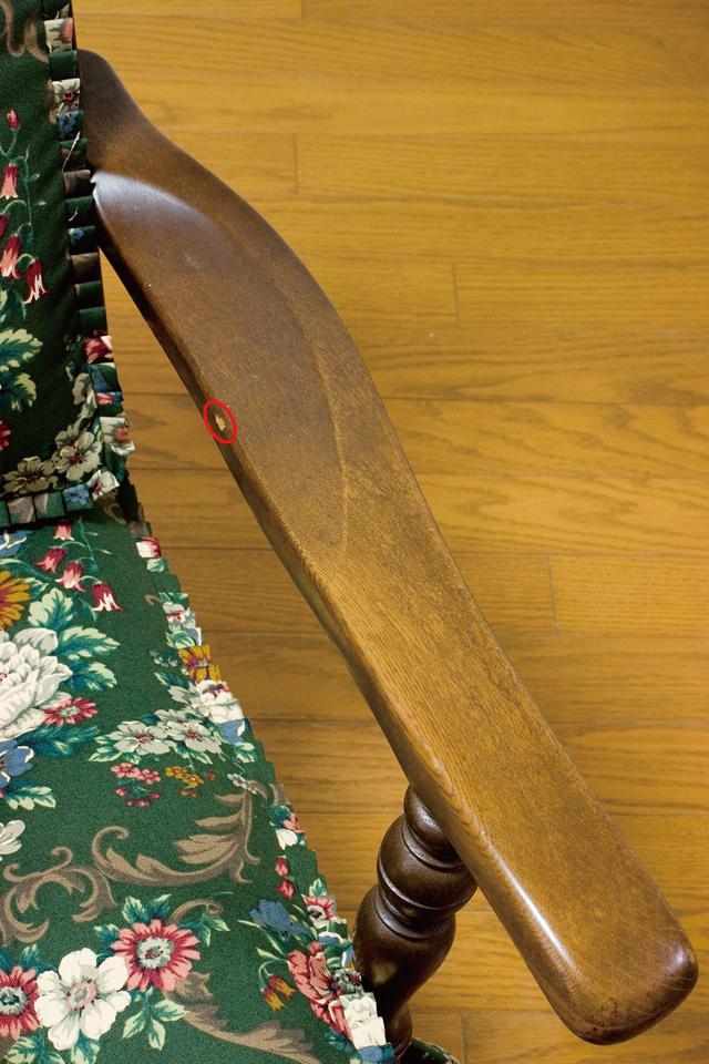 キツツキマークの飛騨産業「穂高」シリーズの3人掛けソファ「肘掛付きチェア:No6R/O/L」セット-07