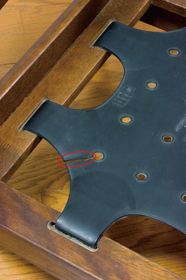 キツツキマークの飛騨産業「穂高」シリーズの3人掛けソファ「肘掛付きチェア:No6R/O/L」セット-11