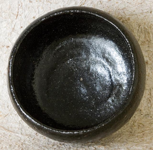 樂吉左衛門「黒楽茶碗」-06