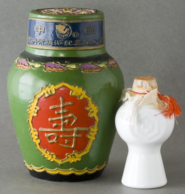 中国土産の古い紹興酒-03