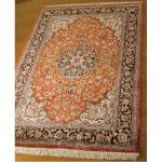 「QUM:クム産」ペルシャ絨毯-