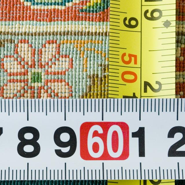 工房サイン入りのペルシャ絨毯-12
