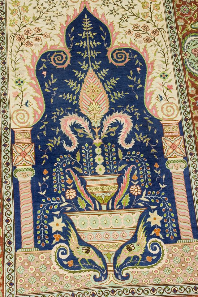 ペルシャ絨毯タペストリー-02