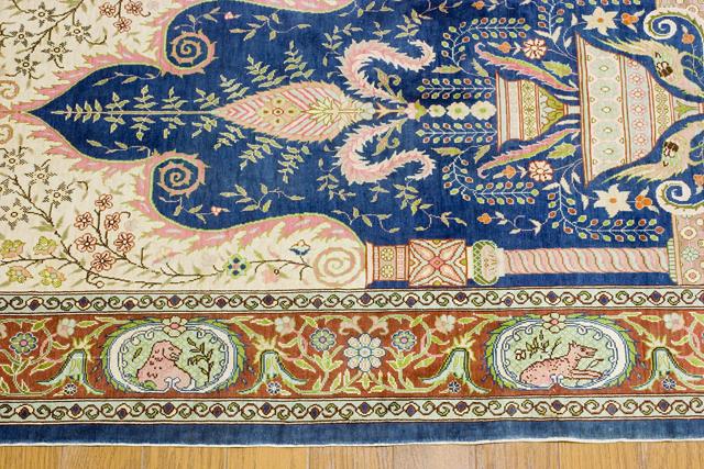 ペルシャ絨毯タペストリー-08