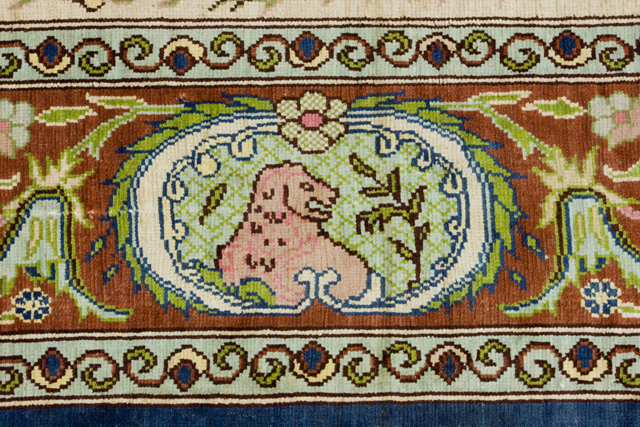 ペルシャ絨毯タペストリー-10