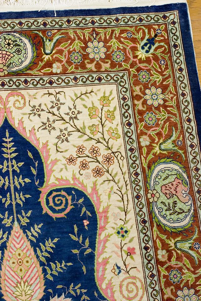 ペルシャ絨毯タペストリー-11