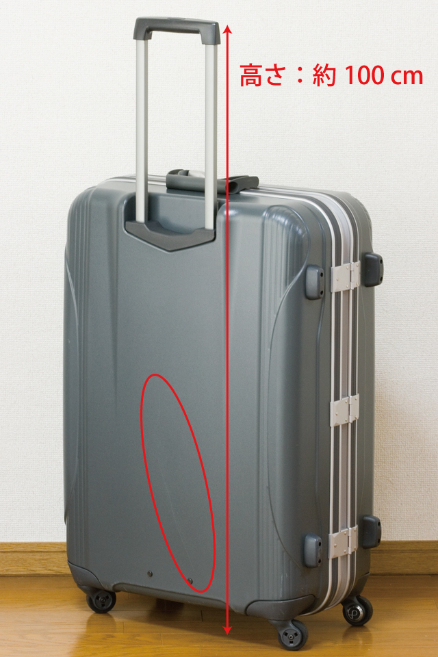 ACE:エースの大容量スーツケース「PROTECA:プロテカ」シリーズ、「EQUINOX LIGHT α:エキノックスライト・アルファ|NO.:0052402」-02
